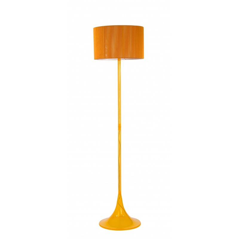 Bertrand floor lamp yellow orange bertrand floor lamp yellow aloadofball