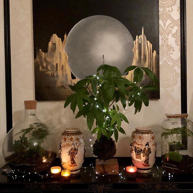 Happy 2021 #wishingyouallthebest #moregreen #kokedama #terrarium #urbanjungle #gogreen #plantsplantsplants #plantsmakepe