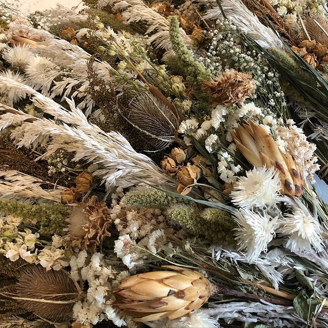 Natural dried flower bouquets#natural #driedflowers #homemade #sustainable